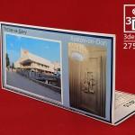 """Обратная сторона 3d открытки """"Театр музыкальной комедии"""""""