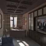Кабинет в стиле Loft